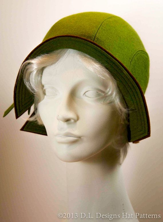 1930\'s Style Cloche Hat Pattern - in case I really get into ...