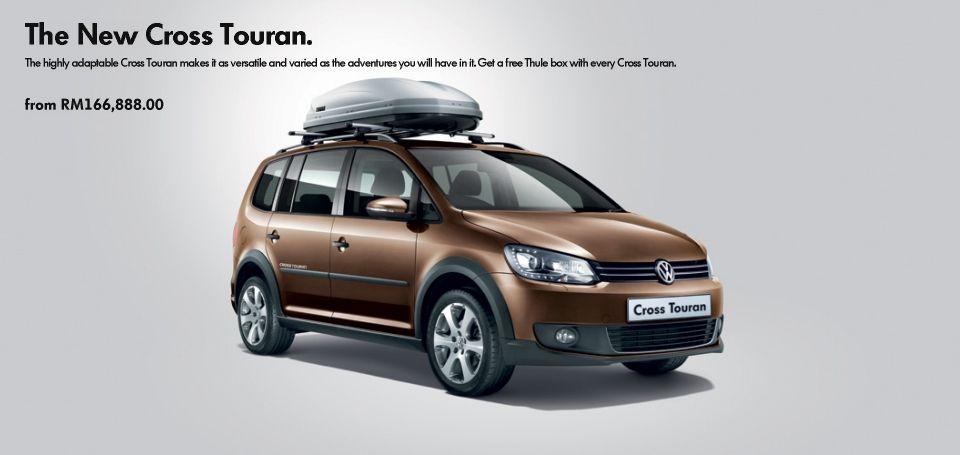 The New Cross Touran Cross Touran Models Volkswagen Malaysia