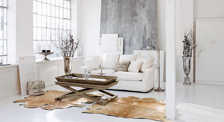 long island flair kombiniert mit loft elementen auf wohnen in wei pinterest. Black Bedroom Furniture Sets. Home Design Ideas
