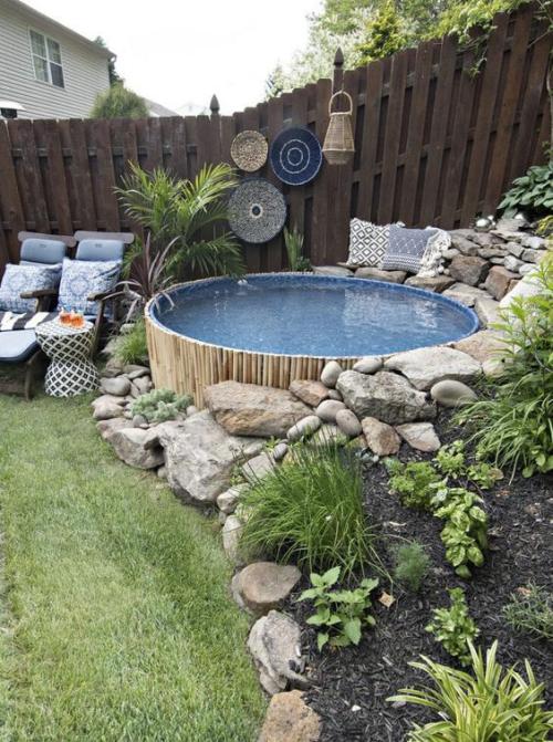 Runde Gartenpools bringen viel Badespaß und weitere Vorteile mit – Fresh Ideen für das Interieur, Dekoration und Landschaft