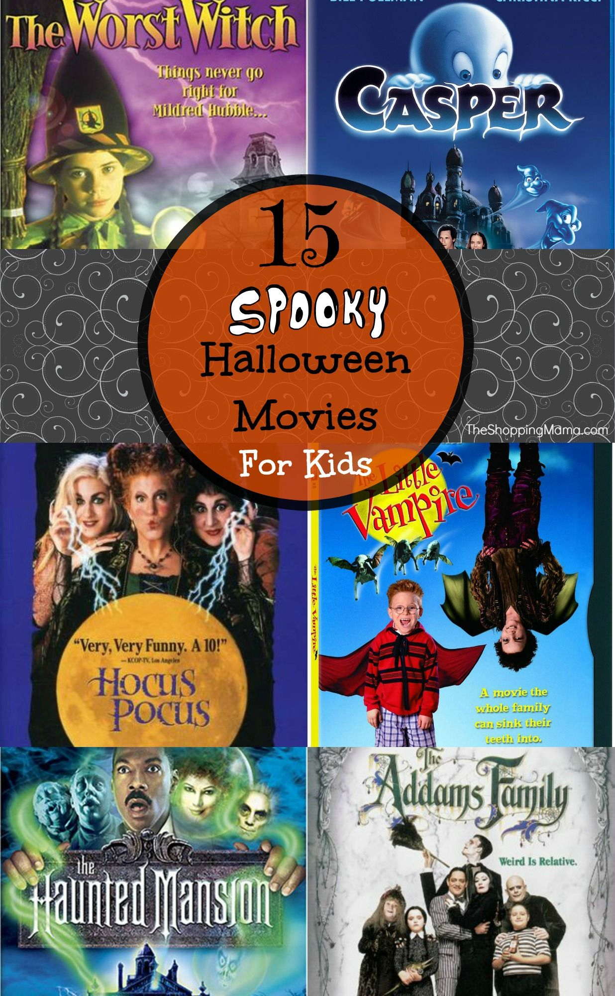 15 Spooky Halloween Movies For Kids | Halloween movie night ...