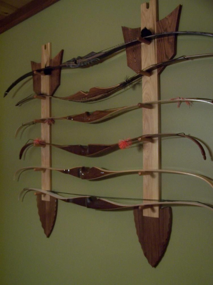 Arrow Bow Rack Wow Makes A Beautiful Wall Hanging Chuck Norris