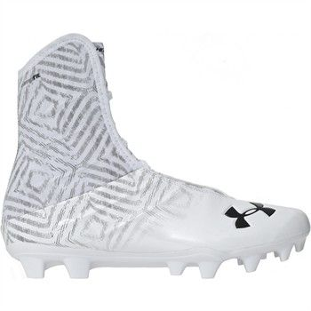 online store 72c5b a4ec8 Under Armour Highlight MC Men s Football Cleats - White White