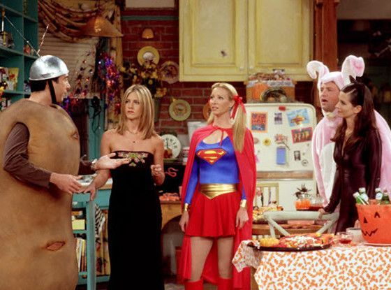 Friends Tv Show Halloween Costumes Ideas.Quiz Which Costume From F R I E N D S Should You Be For