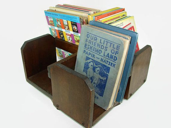 Solid Wood Revolving Bookcase | Rotating Book Holder | Swivel Wood  Organizer | Desktop Table Top