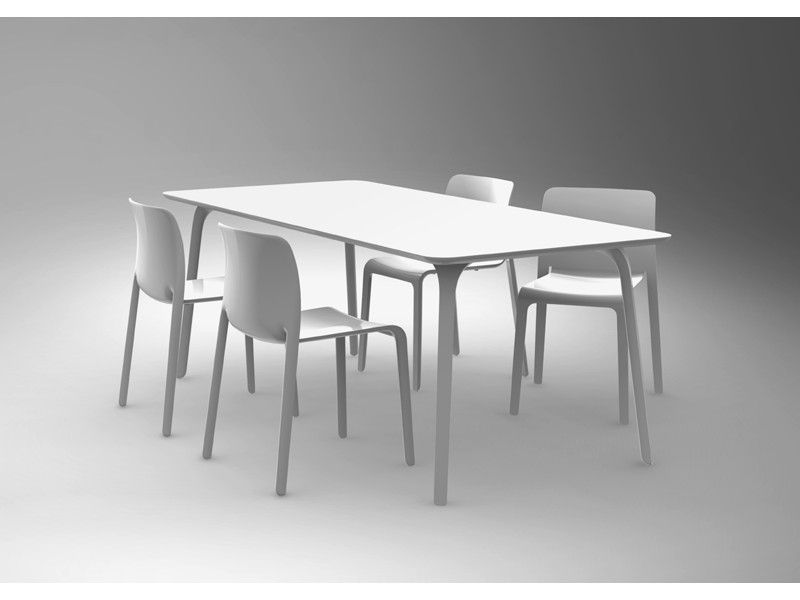 Magis Chair First Modern Dining Table Dining Table Design Contemporary Dining Table
