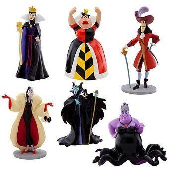 Disney Store Authentic JAFAR /& IAGO FIGURINE Cake TOPPER Aladdin Villain NEW