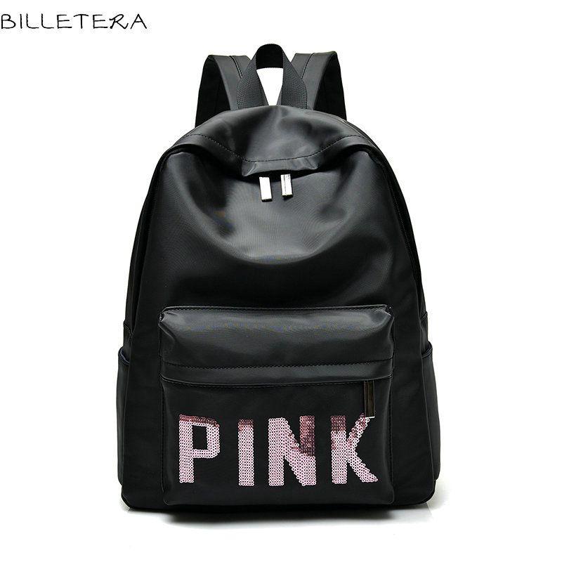 Aliexpress.com : Buy BILLETERA Girls Backpacks Nylon Black ...