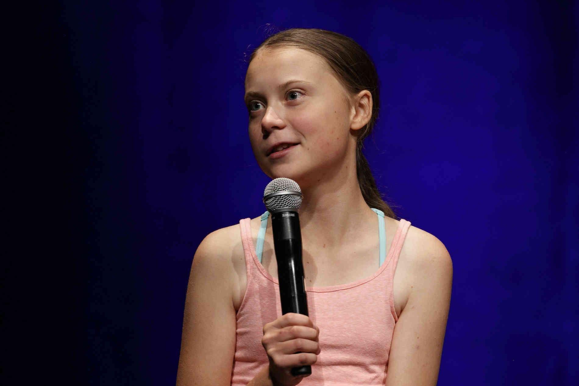 Pin Auf Greta Thunberg