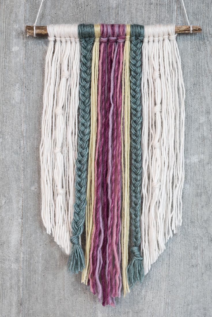 Photo of DIY – Wall Art with Yarn – Places Like Heaven