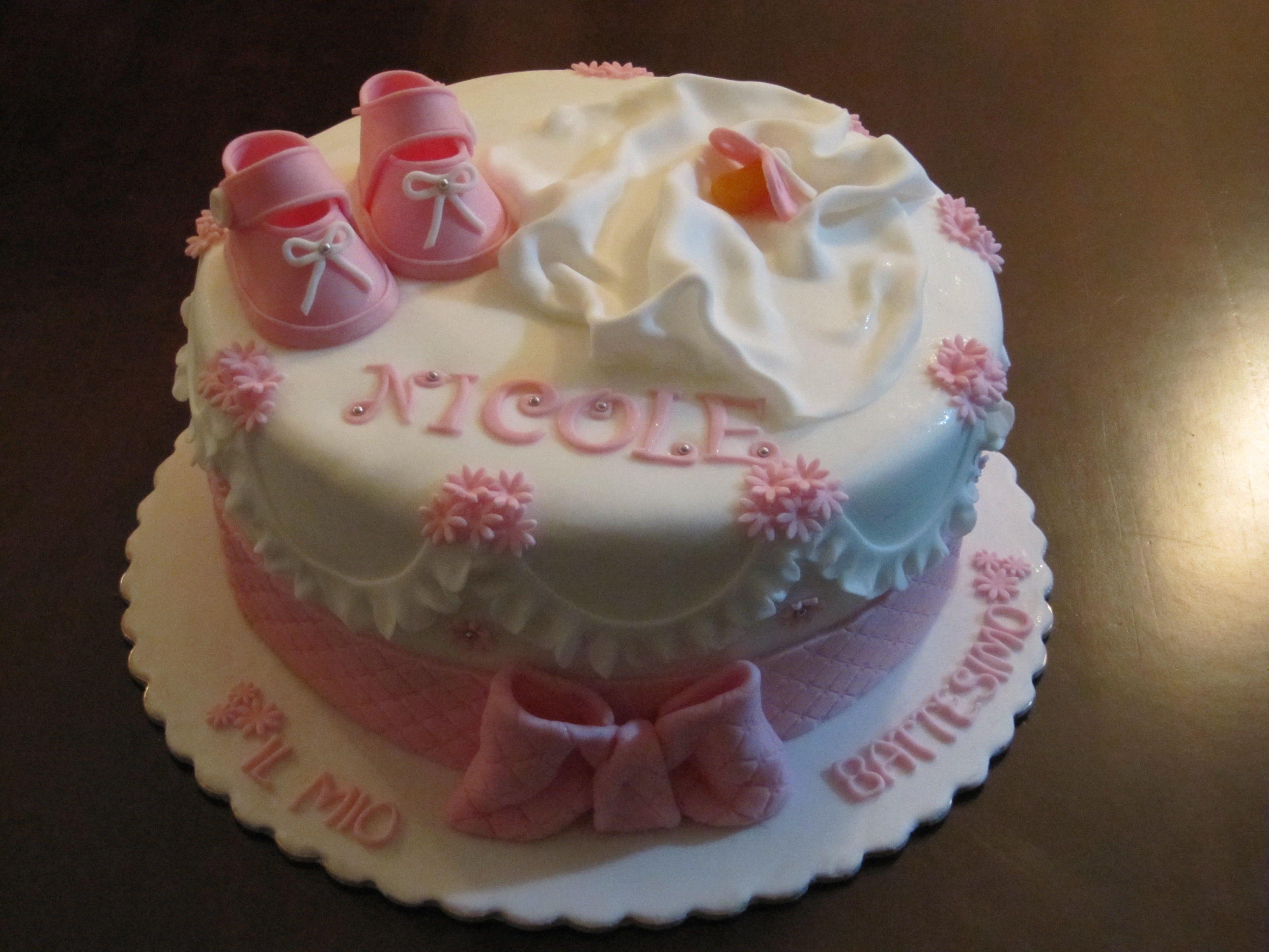 Bien connu Torta Battesimo bimba pecorella   dolci   Pinterest   Cake, Shower  TZ58