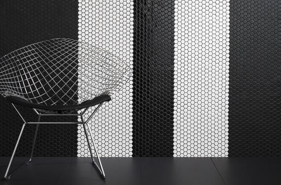 For #TileTuesday we're putting a spotlight on our monochrome Metis range: http://bit.ly/1vZ2oHM