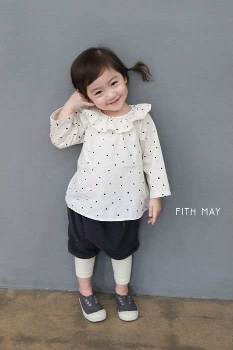 Fith May Dot Blouse (2C)