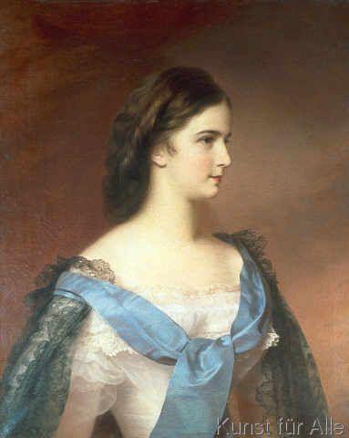 Franz Schrotzberg - Elisabeth v.Österr.,Porträt/Schrotzberg