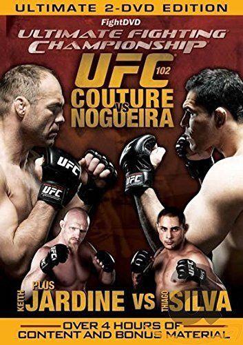 UFC 102: Couture vs. Nogueira (DVD, 2009, 2-Disc Set)