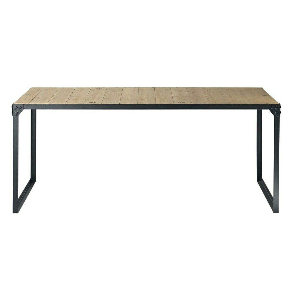 Epingle Par Raphael Withnell Sur Bureau Table Salle A Manger Table A Manger Metal Table A Diner