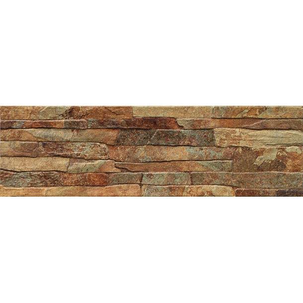 Fachaleta de cer mica rustica para interiores y exteriores for Ceramica para fachadas exteriores