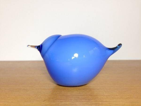 "iittala Blue Stint 2008 Oiva Toikka バード 新品同様 /【Buyee】 ""Buyee"" Japan Shopping Service | Buy from Yahoo! Buy from Japan!"