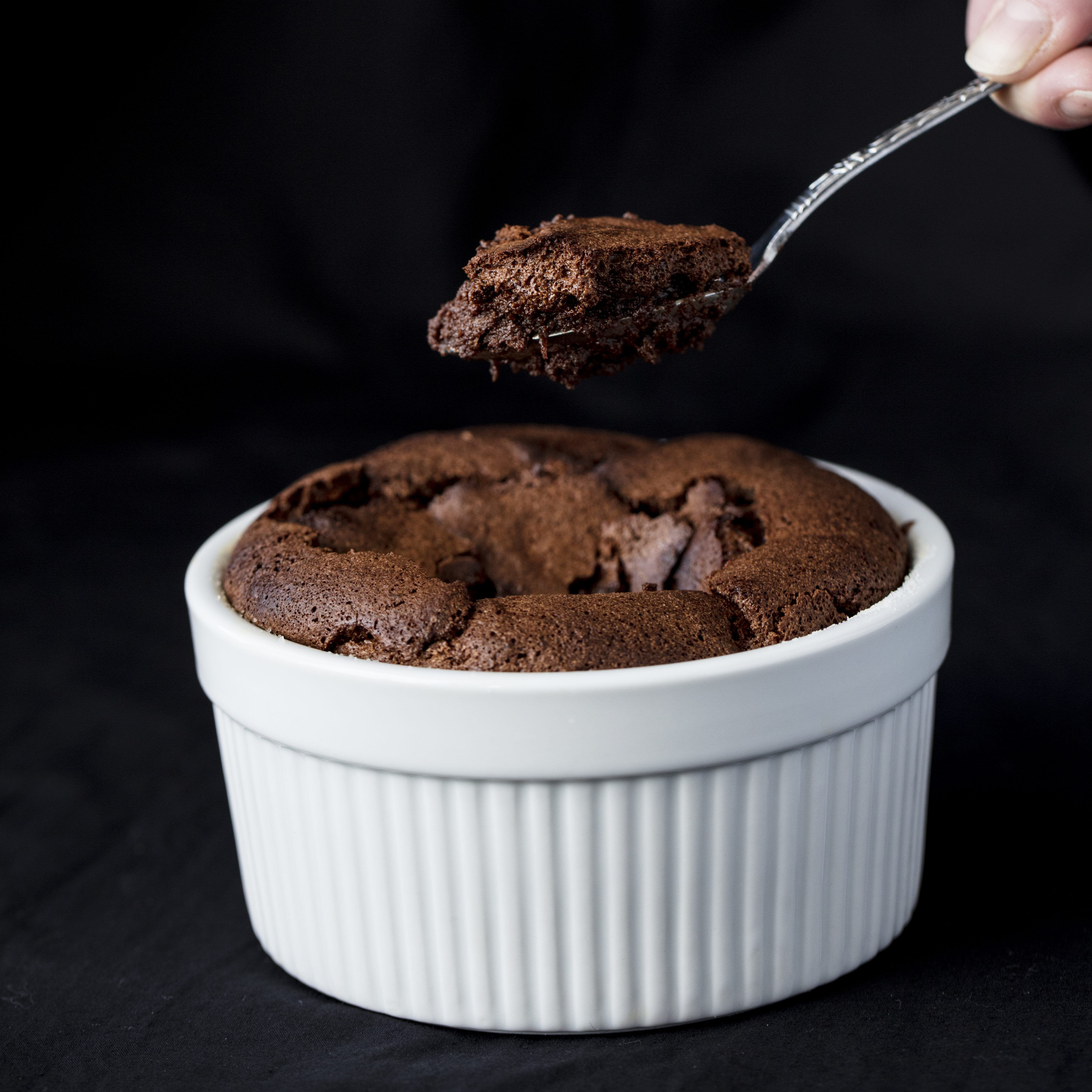 Easy Chocolate Souffle This Easy Chocolate Soufflé will make any chocolate lover swoon! Making soufflés doesn't have to be impossibly hard. You just need a good set of instructions!
