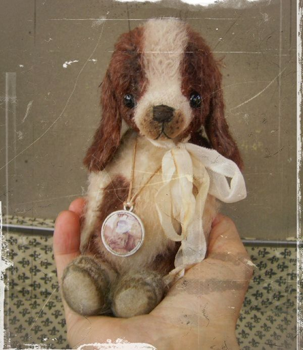 Mohair/Bear /Spaniel/Puppy Dog Sewing Pattern 7 inch PDF File