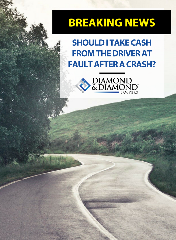 Should I Take Cash From The Driver At Fault After A Crash Country Roads Toronto Star Told You So