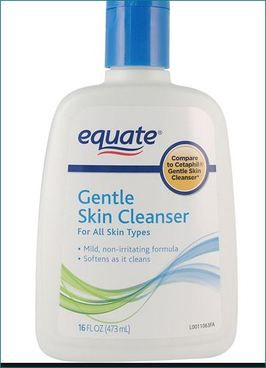 Equate creamy facial cleanser