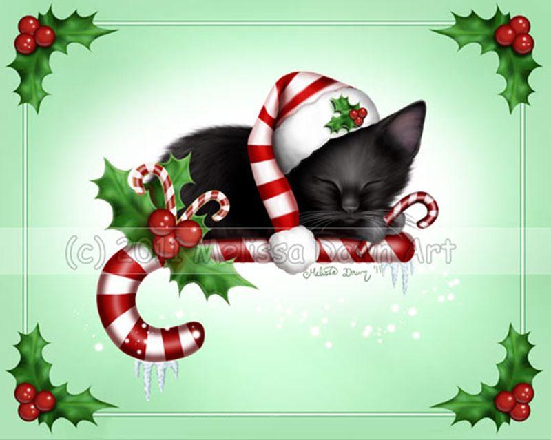 """Candy Cane Christmas"" par Melissa Dawn"