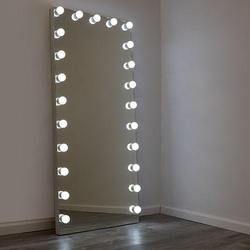 Starlet Hollywood Led Full Length Floor Mirror En 2021 Espejos De Piso Espejos Para Habitacion Decoracion De Tocador Full length mirrors with lights