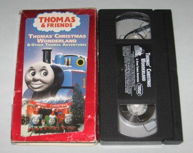 Thomas Christmas Wonderland Vhs.Thomas The Tank Engine Thomas Christmas Wonderland Vhs