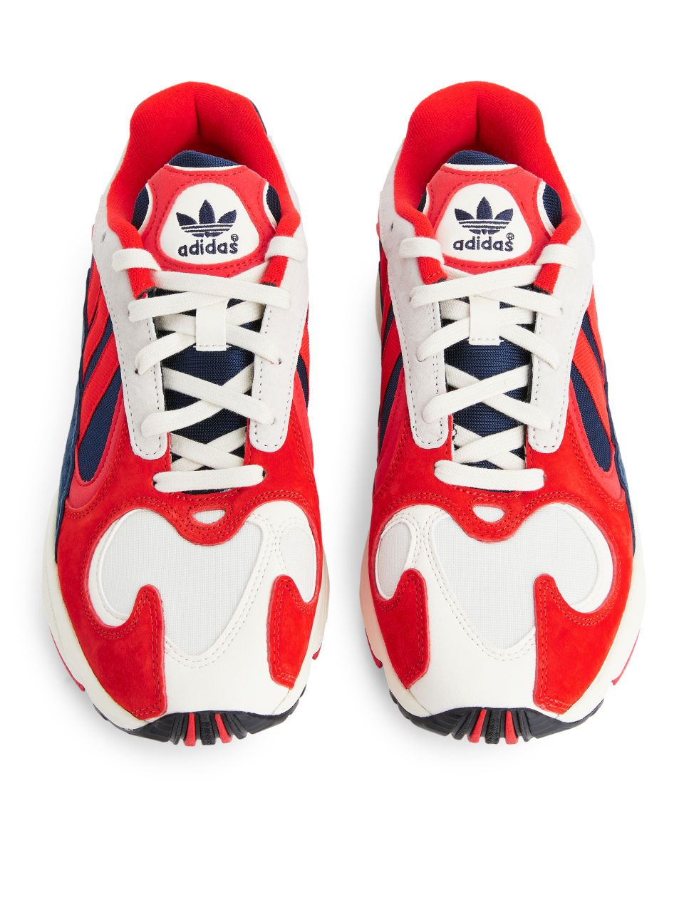 adidas Yung 1 Trainers in 2019   Red shoes, Arket, Adidas brand