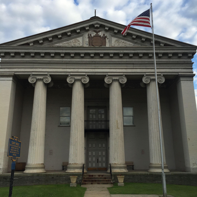 New york montgomery county fonda - Historic 1836 Montgomery County Courthouse Fonda New York Paul Chandler July 2017
