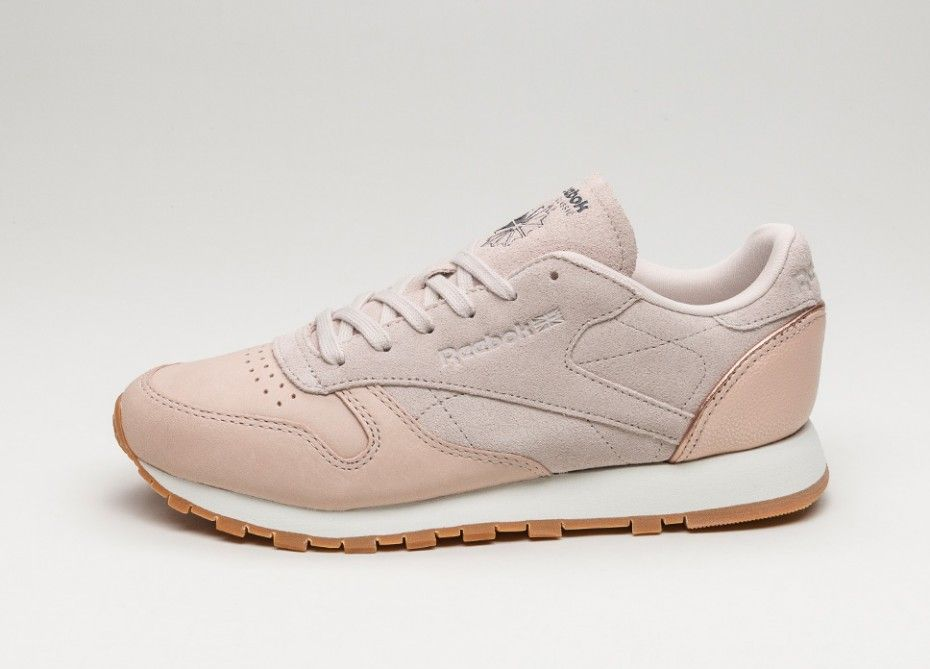 1f3a3405c24 Reebok Classic Leather  Golden Neutrals  (Sandtrap   Rose Gold   Chalk    Lead