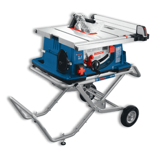 Powerful 10 In Worksite Table Saw Features 15 Amp Saw Bosch Table Saw
