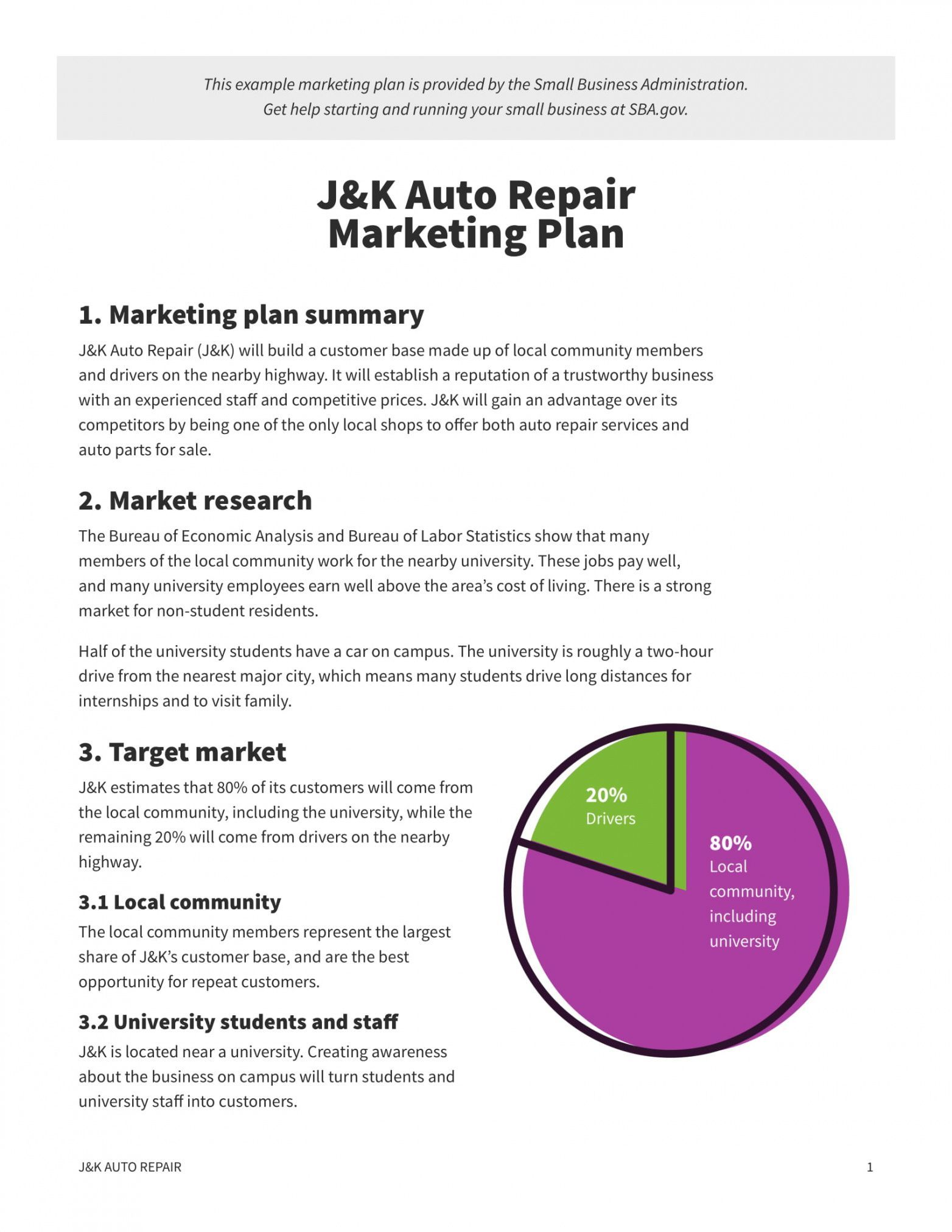 Explore Our Image Of Local Area Marketing Plan Template For Free Marketing Plan Template Small Business Plan Template Marketing Plan