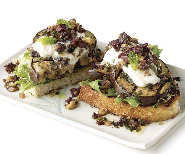 Top Summer Eggplant Recipes #finecooking