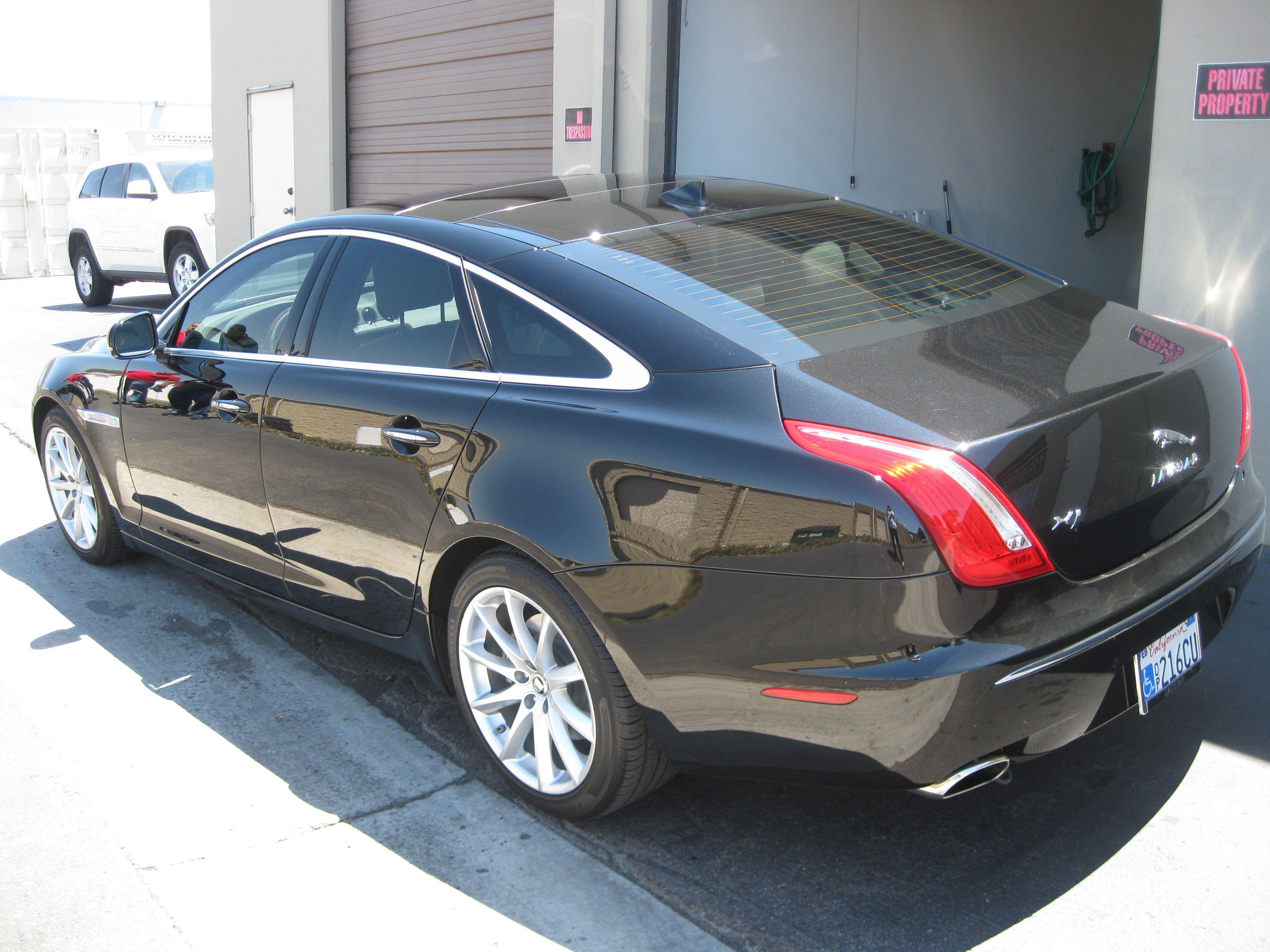 Jaguar Xj Tint Installation Monumental Workx Tint Custom