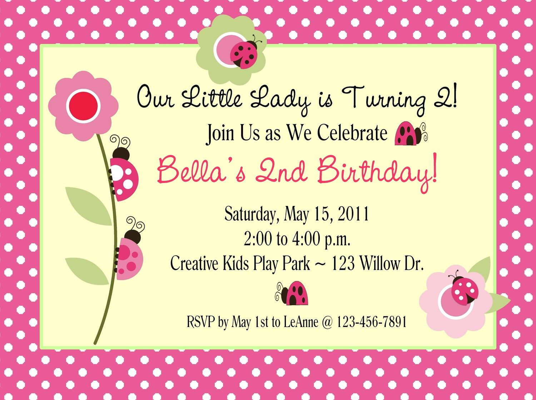 invitation for birthday party