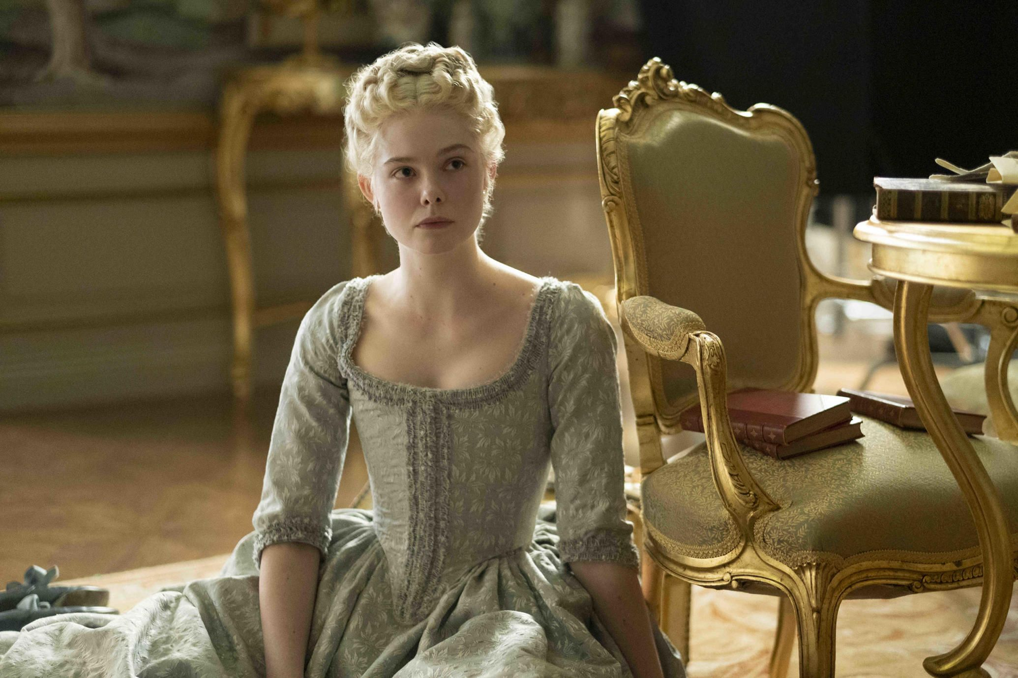 Elle Fanning Gets Her Own The Favourite In Hulu S The Great Teaser Trailer Tv Guide In 2020 Elle Fanning Catherine The Great Greatful