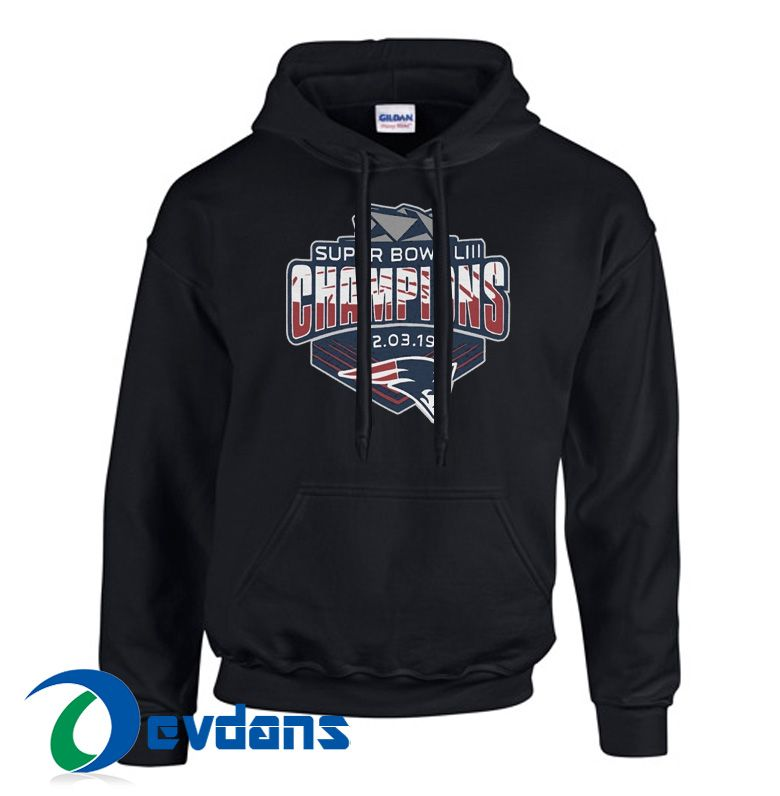 5e4311c56 New England Patriots Superbowl Hoodie Unisex Adult Size S to 3XL di ...