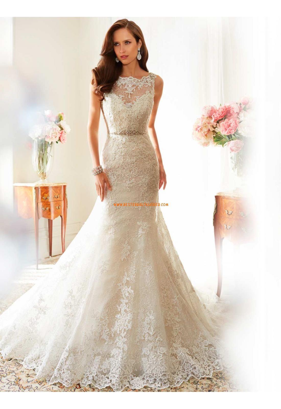 Meerjungfrau Extravagante Schönste Brautkleider aus Spitze mit ...