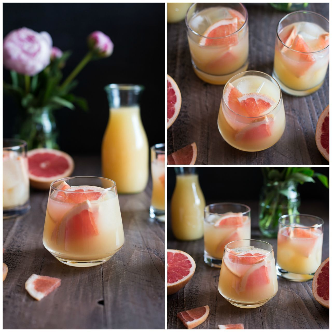 Bourbon Grapefruit Cocktail #grapefruitcocktail Bourbon Grapefruit Cocktail #grapefruitcocktail
