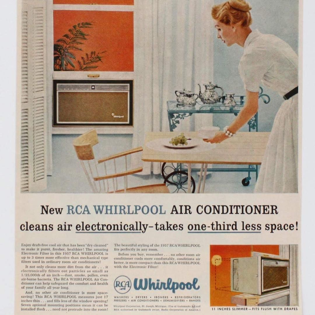 Tbt To This Awesome Vintage Air Conditioning Ad By Whirlpool