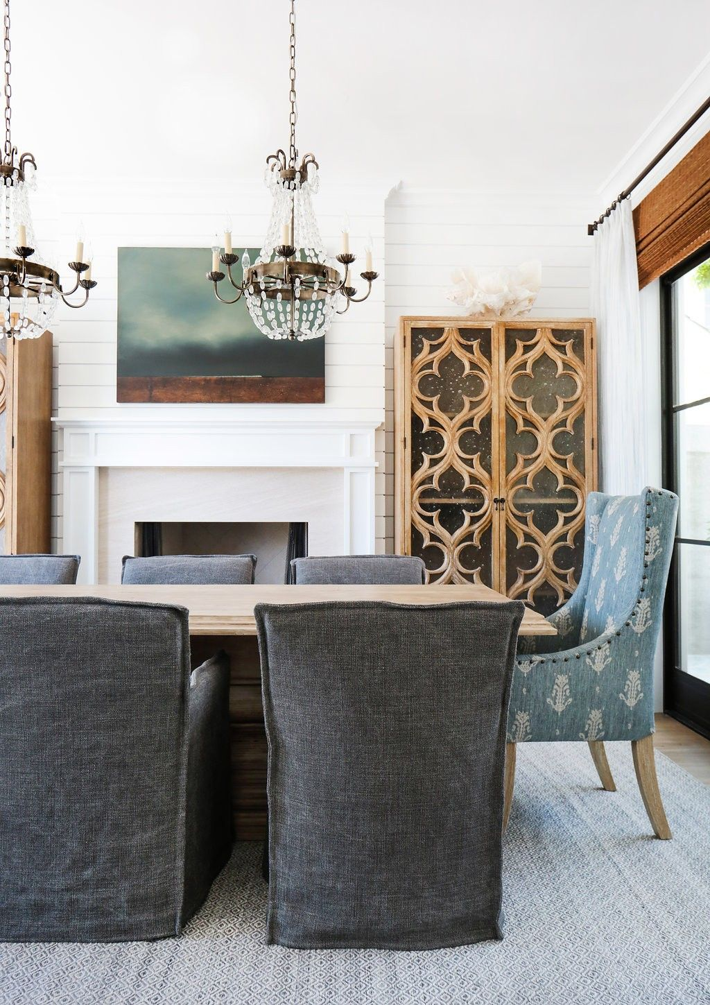 A Bayshore Beauty  Zsazsa Bellagio  Like No Other  Divine Unique Charcoal Dining Room Inspiration