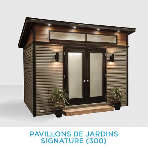 Cabanon innova pavillons de jardin signature 300 for Cabanon de jardin
