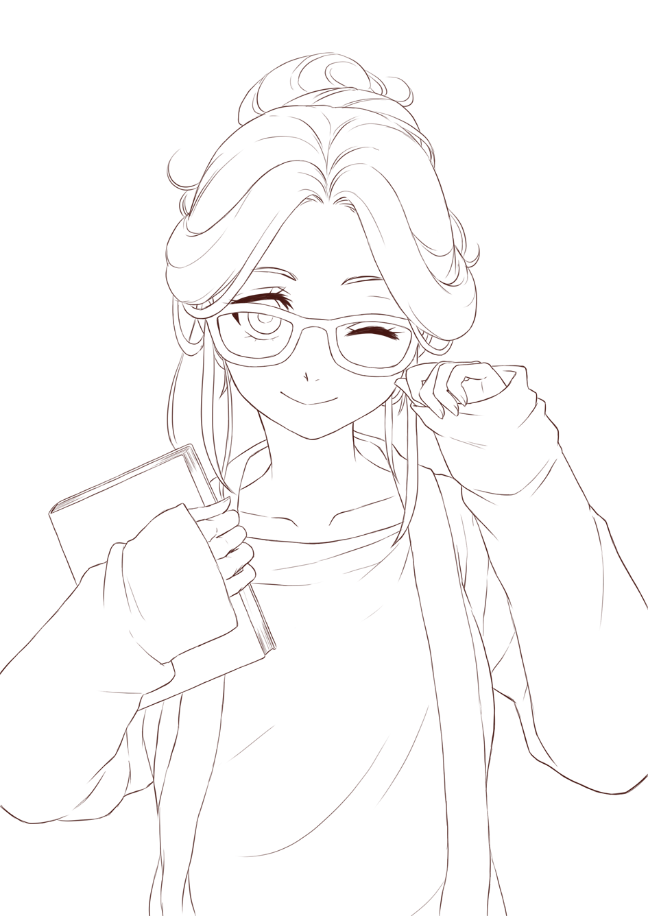 anime lineart transparent - google