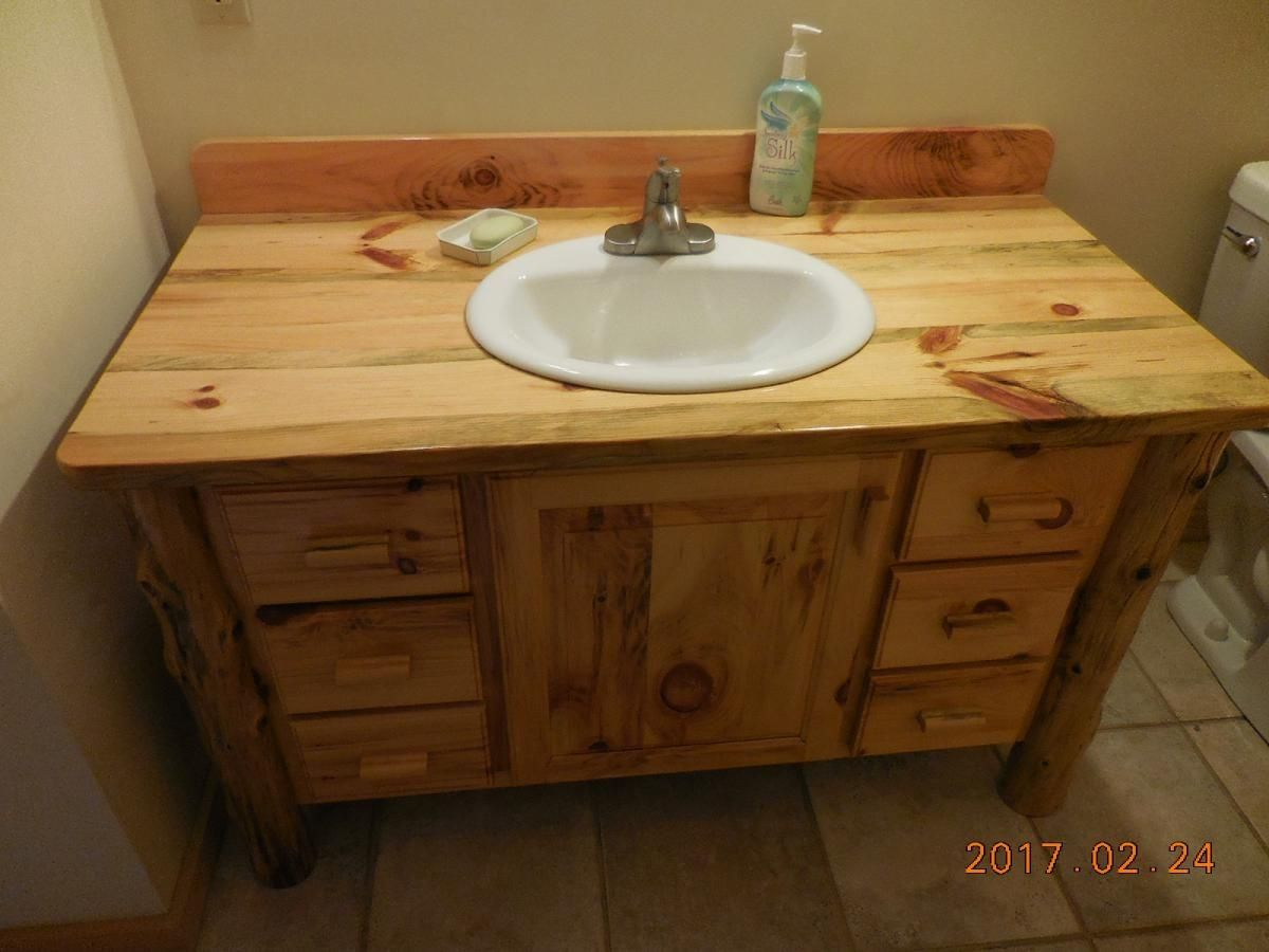 2019 Knotty Pine Bathroom Cabinets Best Interior Wall Paint