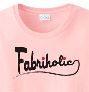 Share and Save an Extra 10% off Fabriholic Quilt T-Shirt
