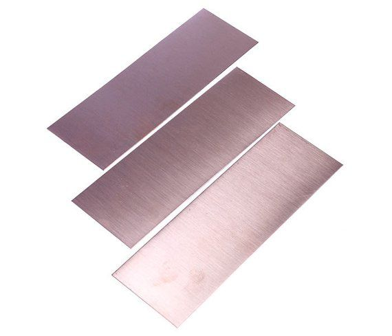Copper Sheet 24ga 2 X 6 0 5mm Thick Pkg Of 3 Cs24 2 Copper Sheets Copper Jewelry Making