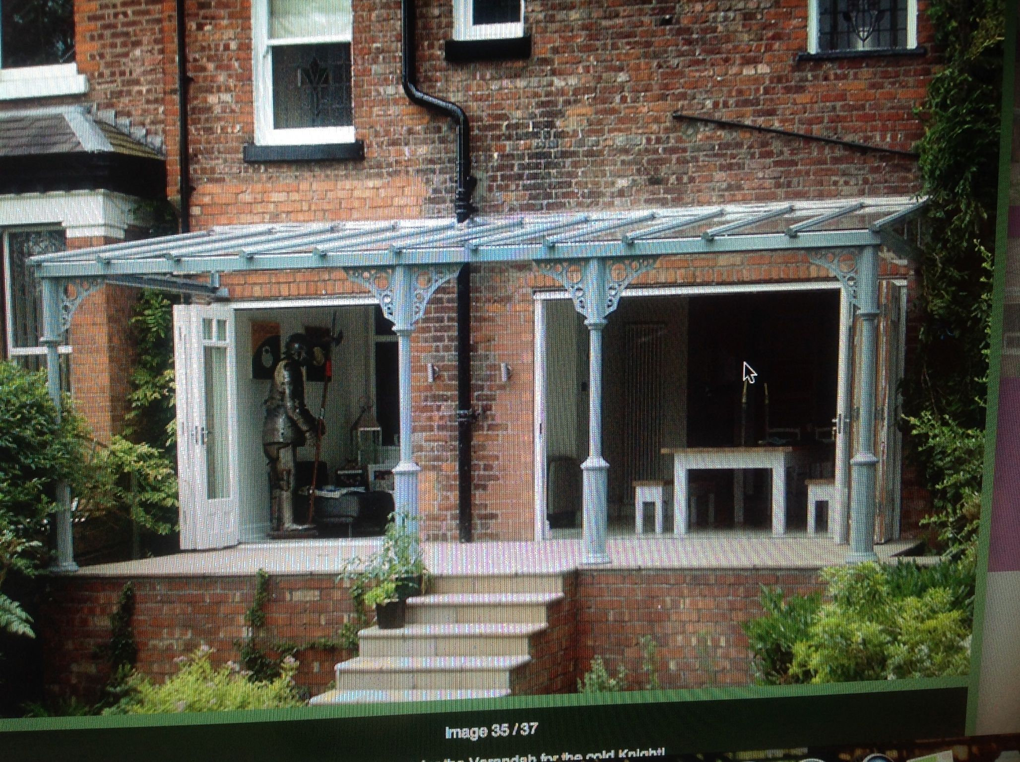 Glass veranda verandas canopies pinterest id es de - Idee veranda terrasse ...