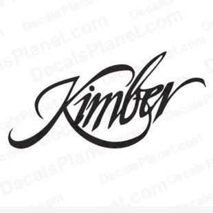 hunting KIMBER Firearms decal multiple sizes free shipping 18 colors